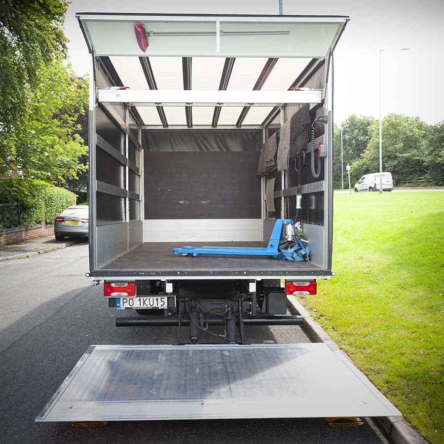 Luton van for removals - size guide